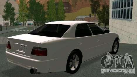 Toyota Chaser для GTA San Andreas вид сзади