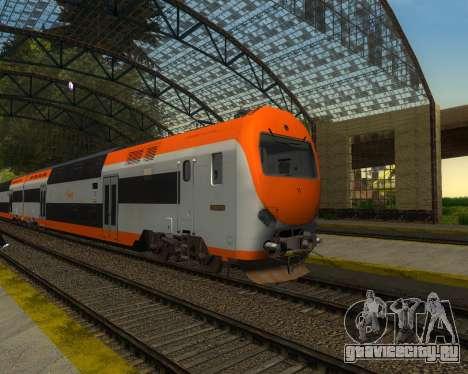 ONCF Ansaldo Breda Z2M (Головной вагон) для GTA San Andreas вид сзади