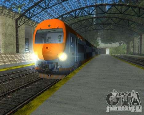 ONCF Ansaldo Breda Z2M (Головной вагон) для GTA San Andreas вид справа