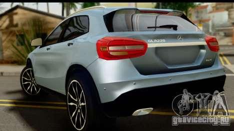 Mercedes-Benz GLA220 2014 для GTA San Andreas вид слева