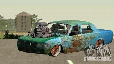 ГАЗ 31029 для GTA San Andreas вид сзади