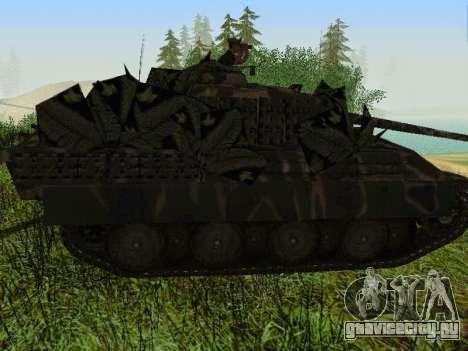 Panther для GTA San Andreas вид изнутри