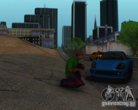 ENBSeries by IE585 V2.1 для GTA San Andreas седьмой скриншот