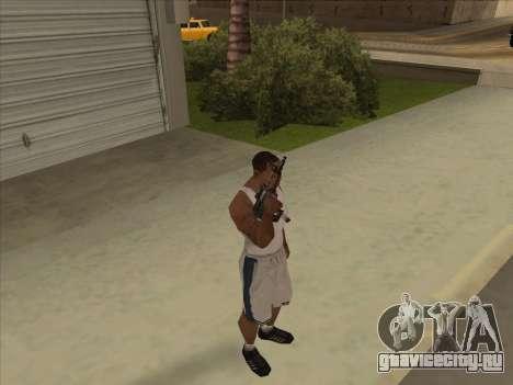 Русские пистолеты-пулемёты для GTA San Andreas четвёртый скриншот