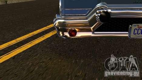 GTA 5 Declasse Tornado IVF для GTA San Andreas вид сбоку