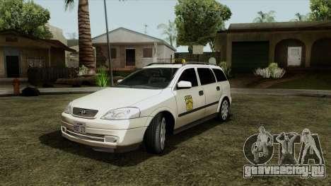 Opel Astra G 1999 Taxi для GTA San Andreas
