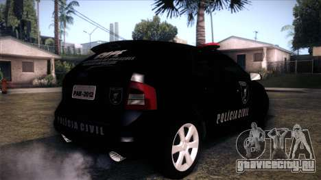 Ford Edge COPE - PCSC для GTA San Andreas вид слева