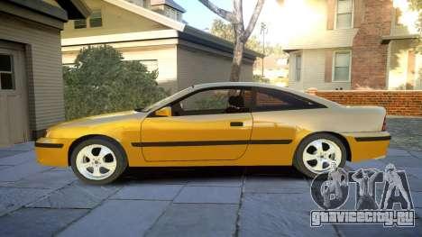 Opel Calibra v2 для GTA 4 вид слева