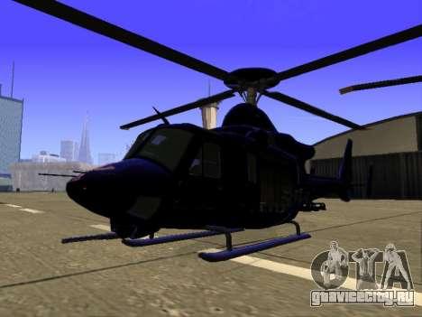 GTA 5 Valkyrie для GTA San Andreas вид сверху