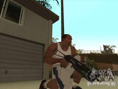 Русские пистолеты-пулемёты для GTA San Andreas третий скриншот