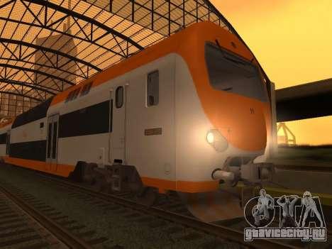 ONCF Ansaldo Breda Z2M (Головной вагон) для GTA San Andreas вид сзади слева