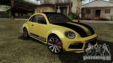 Volkswagen New Beetle 2014 GSR для GTA San Andreas