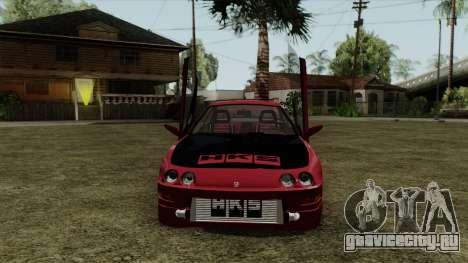 Honda Integra для GTA San Andreas вид сзади слева