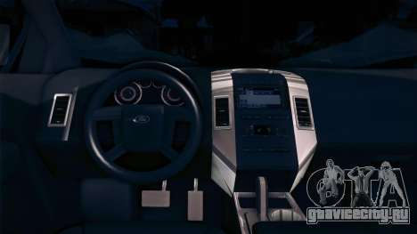 Ford Edge COPE - PCSC для GTA San Andreas вид сзади слева