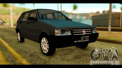 Fiat Uno Fire Mille для GTA San Andreas