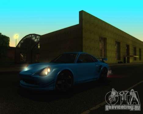 ENBSeries by IE585 V2.1 для GTA San Andreas третий скриншот