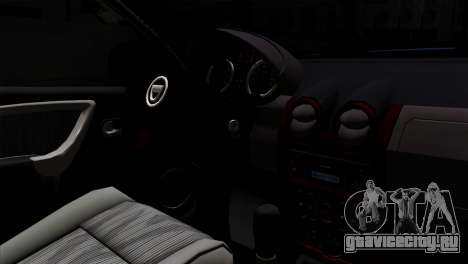 Dacia Duster 2014 для GTA San Andreas вид сзади слева