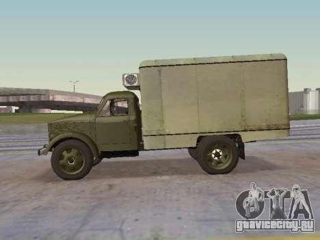 ГАЗ 51 Внешторг для GTA San Andreas вид слева