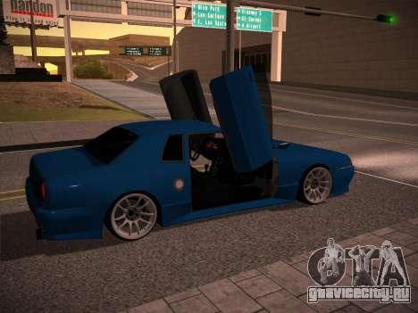 Elegy GunkinModding для GTA San Andreas вид слева