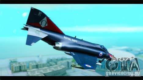 McDonnell Douglas F-4E RAF для GTA San Andreas вид слева