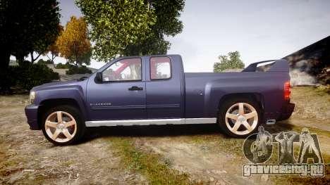 Chevrolet Silverado 1500 LT Extended Cab wheels2 для GTA 4 вид слева
