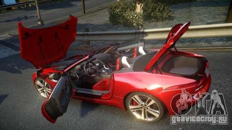 Jaguar F-Type v1.6 Release [EPM] для GTA 4 вид сбоку