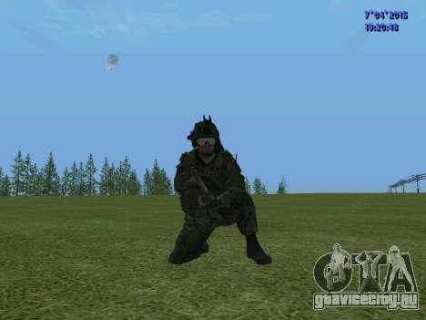 Спецназ для GTA San Andreas двенадцатый скриншот