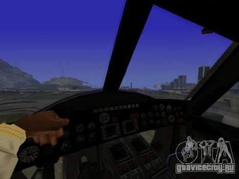 GTA 5 Valkyrie для GTA San Andreas вид справа