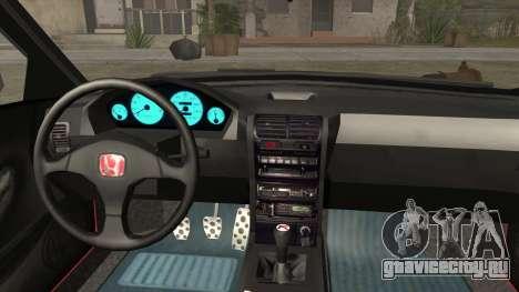 Honda Integra для GTA San Andreas вид справа