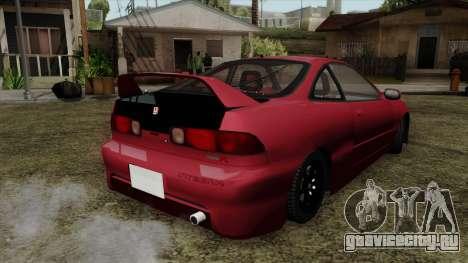 Honda Integra для GTA San Andreas вид слева