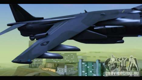 AV-8B Harrier Estovakian Air Force для GTA San Andreas вид справа