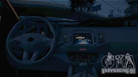 Chevrolet Nova S10 Detran-PB для GTA San Andreas вид сзади слева