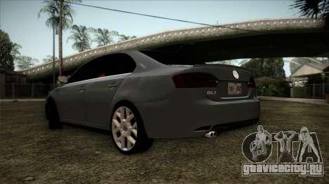 Volkswagen Jetta GLI Edition 30 2014 для GTA San Andreas вид слева