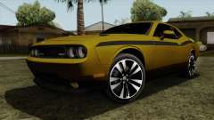 Dodge Challenger Yellow Jacket