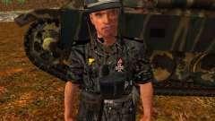 Немецкий офицер танковых войск