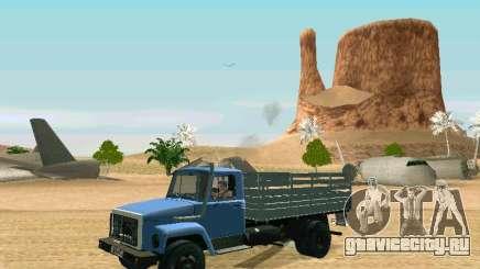 ГАЗ 3309 кунг для GTA San Andreas