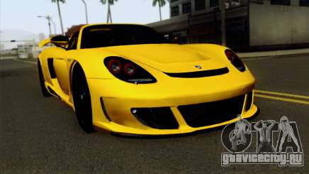 Gemballa Mirage GT v2 Windows Down для GTA San Andreas