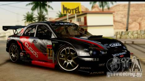 Subaru Impreza WRX STI 2003 JGTC для GTA San Andreas