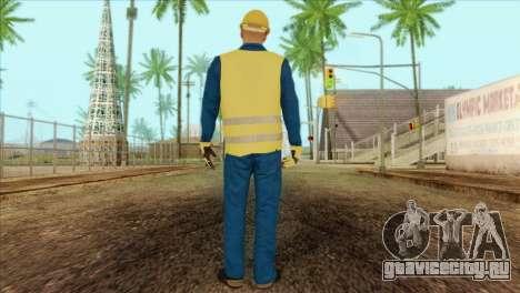Takedown Redsabre NPC Shipworker v1 для GTA San Andreas второй скриншот
