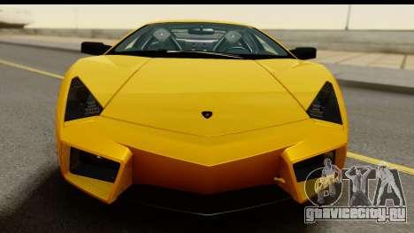 Lamborghini Reventon 2008 для GTA San Andreas вид сзади слева