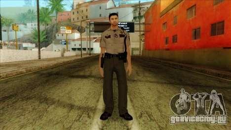 Depurty Alex Shepherd Skin without Flashlight для GTA San Andreas