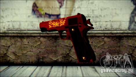 Dual Colt Red Dragon CF для GTA San Andreas второй скриншот