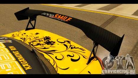 Nissan Silvia S15 Kagamine Rin Itasha для GTA San Andreas вид сзади