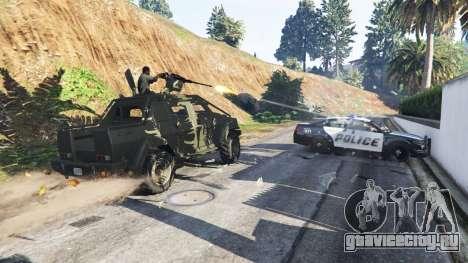 Lamar Gunner для GTA 5 второй скриншот
