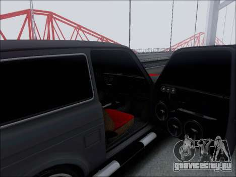 Lada Niva для GTA San Andreas вид сверху