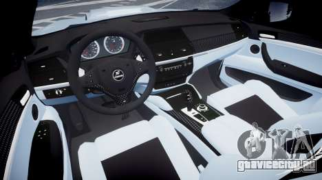 BMW X6 Tycoon EVO M 2011 Hamann для GTA 4 вид сзади