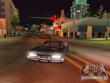 HQ ENB Series v2 для GTA San Andreas третий скриншот