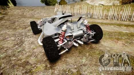 Buggy X для GTA 4 вид сзади слева