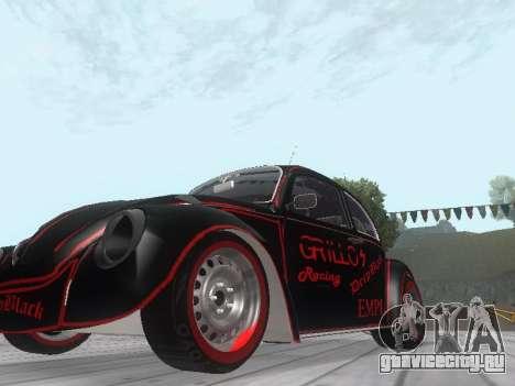 Volkswagen Super Beetle Grillos Racing v1 для GTA San Andreas вид слева