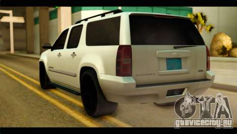 Chevrolet Suburban 2010 NFS для GTA San Andreas вид слева